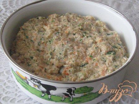 Куриные котлеты с овсянкой, шпинатом и морковью