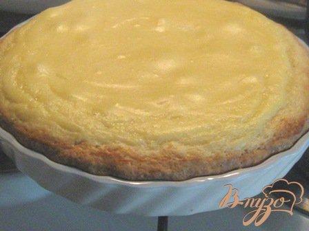 Пирог с заварным кремом и абрикосами
