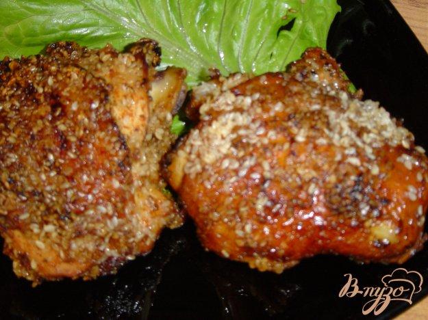 фото рецепта: Цыпленок в кунжуте