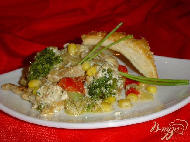 фото рецепта: Мясо с овощами в горшочках