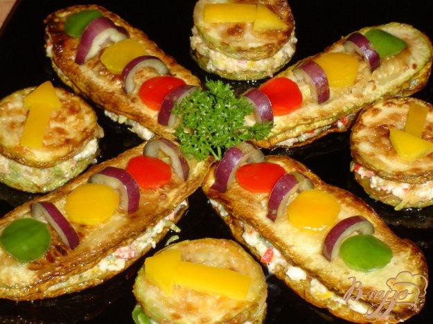 """Рецепт Овощная закуска """"Перекресток"""""""