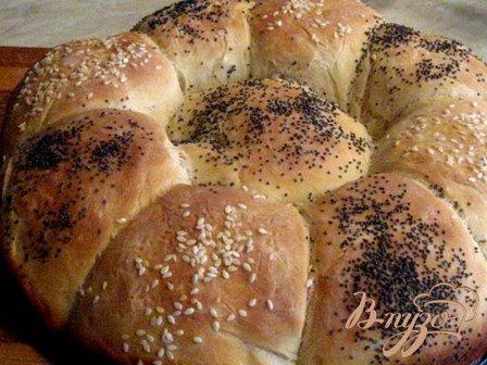 """Рецепт Хлеб """"Ромашка"""""""