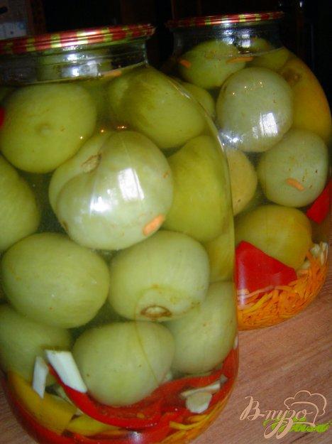 фото рецепта: Зеленые помидоры