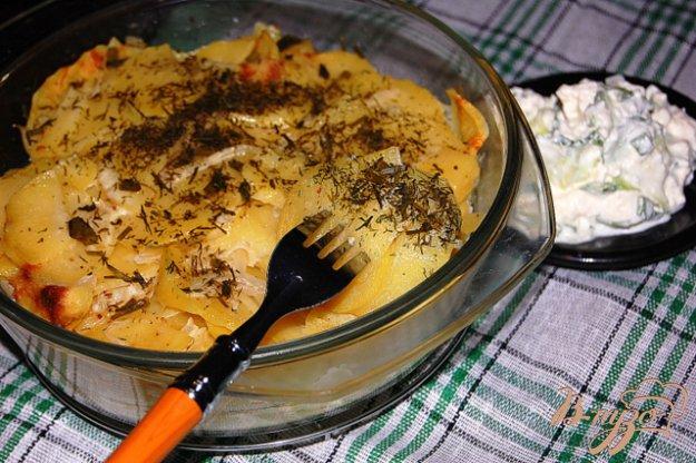 Рецепт Тушеный картофель из микроволновки