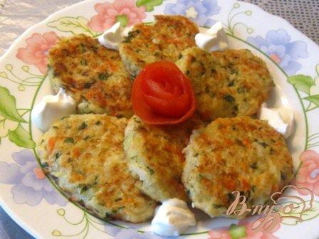 Оладьи капустные с сыром