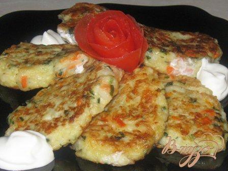 Рецепт Оладьи капустные с сыром