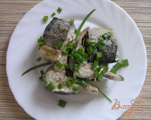 Рецепт Скумбрия с лимоном и адыгейской солью