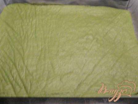 Зеленый рулет с брокколи
