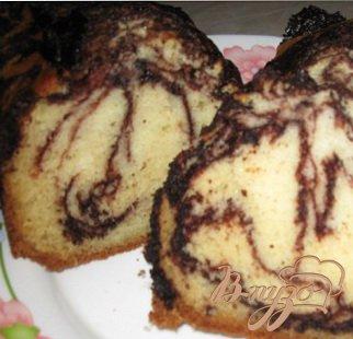 фото рецепта: Кекс с жидким шоколадом
