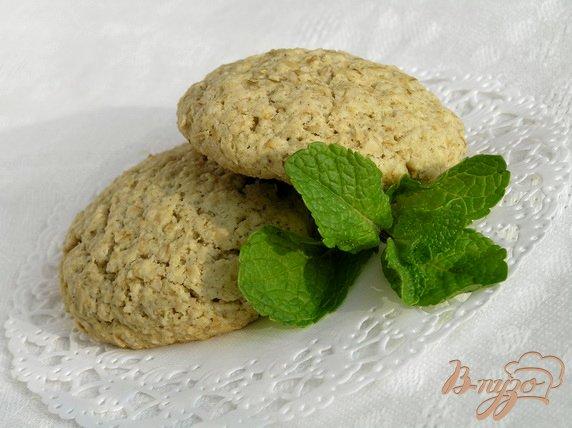 Рецепт Овсяные печенья (постные)