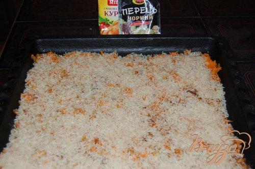 Всегда удачный рис приготовленный  под фольгой