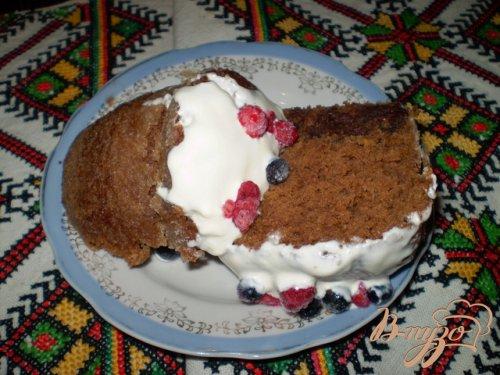 Торт в кружке или опасный тортик