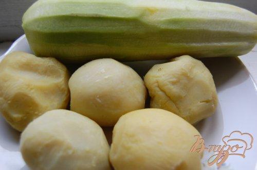Оладьи из кабачка и картошки