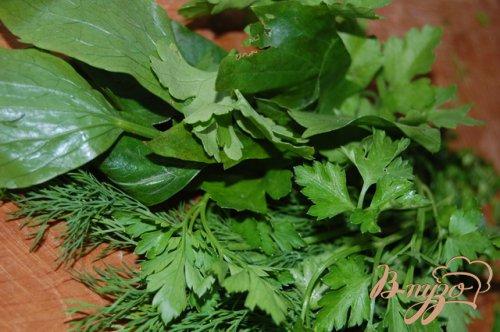 Налистники с картошкой и молодой зеленью