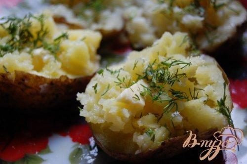 Картошка из микроволновки