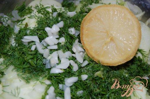 Кабачки в медово-лимонном маринаде