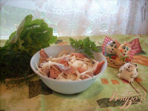 Рыбная запеканка с рисом.