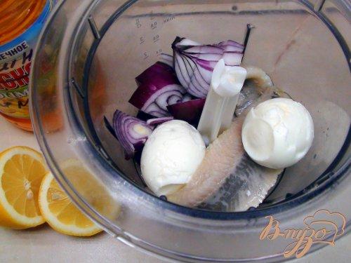 Селёдочный салат на тостах, к утреннему чаю!