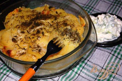 Тушеный картофель из микроволновки