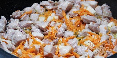 Бигус - тушёная капуста с мясом