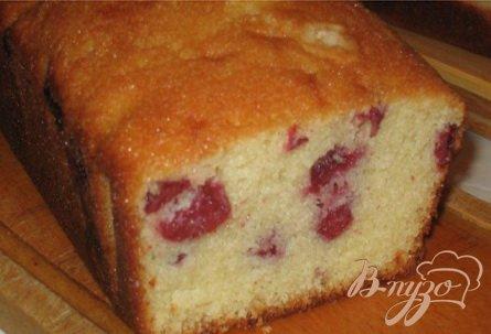 Рецепт Очень вкусный кекс с вишней