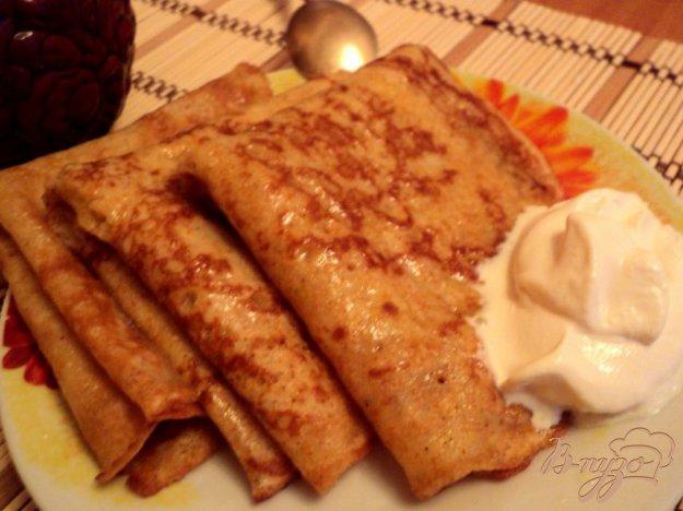Рецепт Блинчики кукурузные