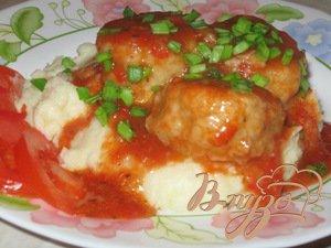 Рецепт Рыбные тефтели в кисло-сладком соусе