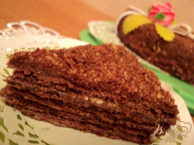 Рецепт Наполеон шоколадный.