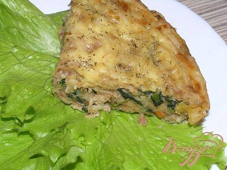 Рецепт Мясная запеканка со шпинатом