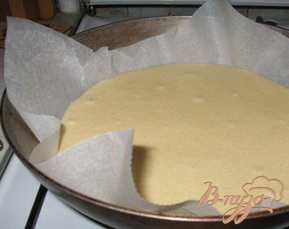 """Абрикосовый пирог со штрейзелем """"Пушистый"""""""