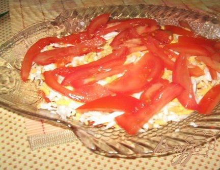 Салат из соленой форели