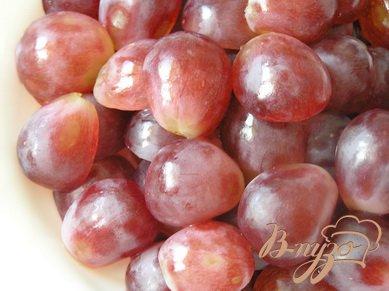 Клафути с виноградом