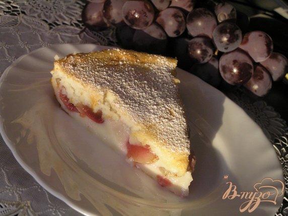 Рецепт Клафути с виноградом