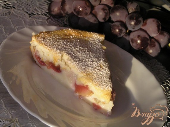 фото рецепта: Клафути с виноградом