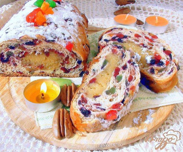 фото рецепта: Паасброд.  Голландский «кулич». Paasbrood.