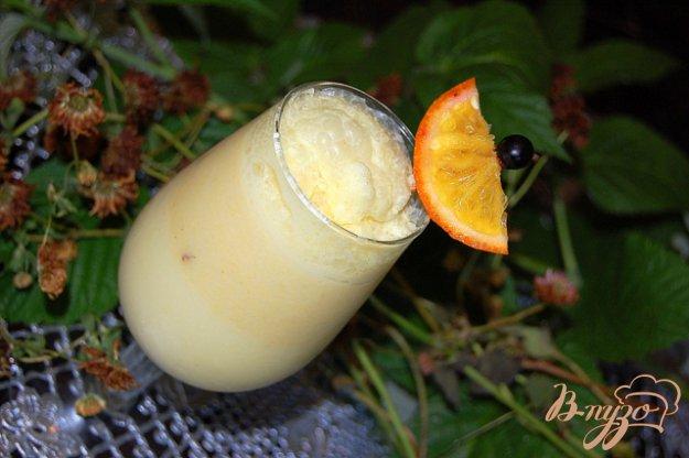Рецепт Апельсиновое молоко