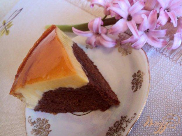 Рецепт Нежный торт «Крем-карамель»