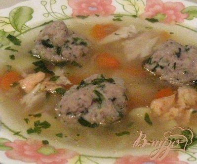 Рецепт Уха с рыбными фрикадельками