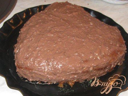 """Торт шоколадно-ореховый """"Встреча"""""""