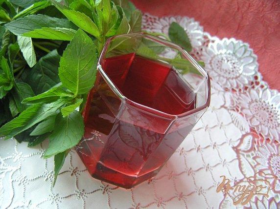 """Рецепт """"Праздничный компот"""" или Вишневый компот с инжиром и мятой"""