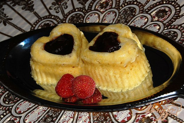 Рецепт Ванильные кексы с фаршированными финиками