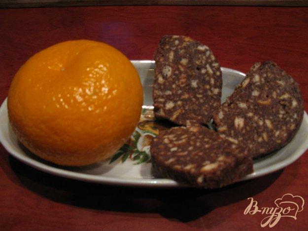 фото рецепта: Шоколадная колбаска