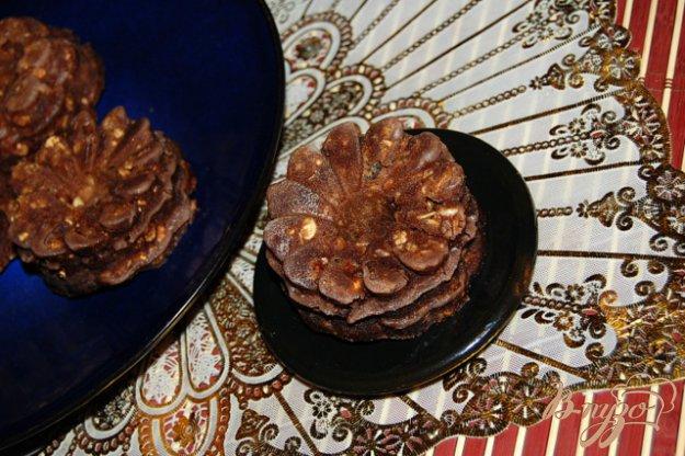 фото рецепта: Овсяно-шоколадные кексы