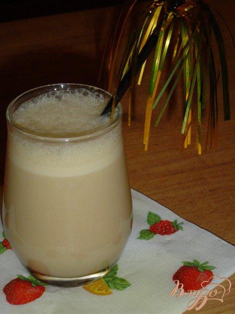 фото рецепта: Кофейно-кефирный коктейль