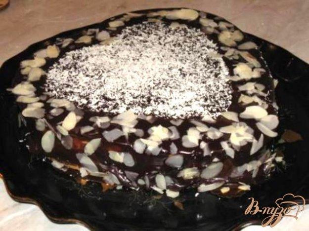 Рецепт Бостонский кремовый торт