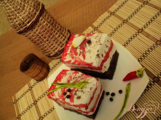 Рецепт Пирожное «Бутерброд с салом»