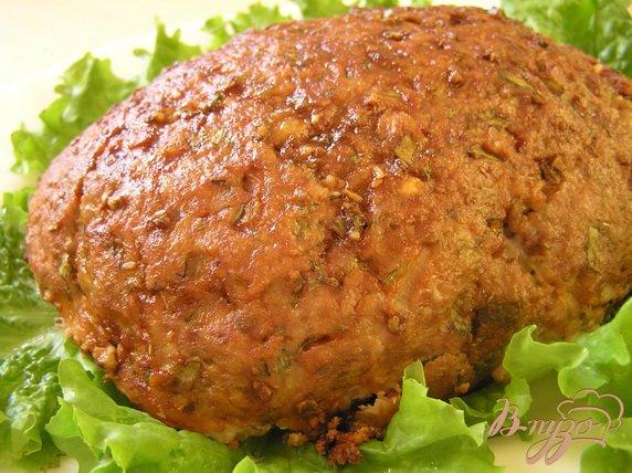 фото рецепта: Американская мясная булка