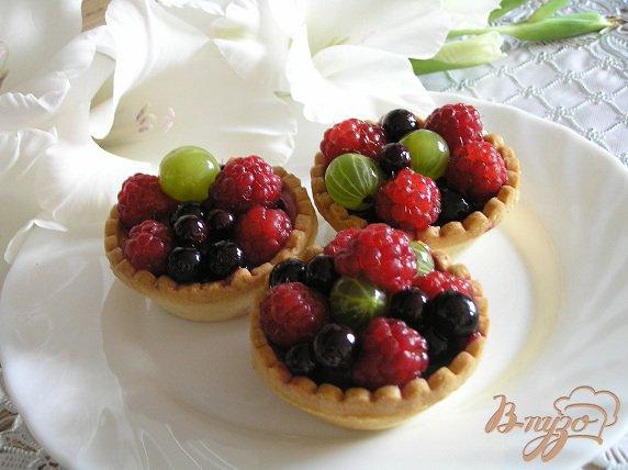 Рецепт Тарталетки с ягодами