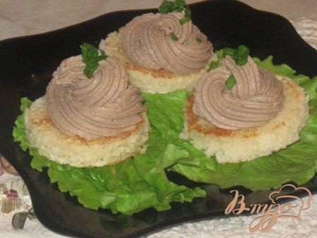 Рецепт Закуска с печеночным паштетом