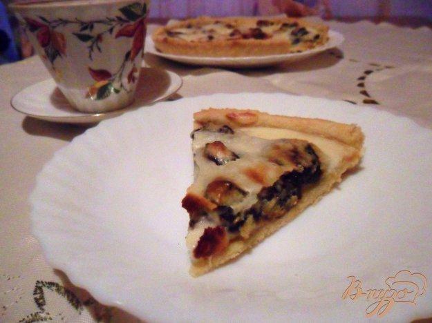 Рецепт Тарт с сухофруктами и сметанной заливкой